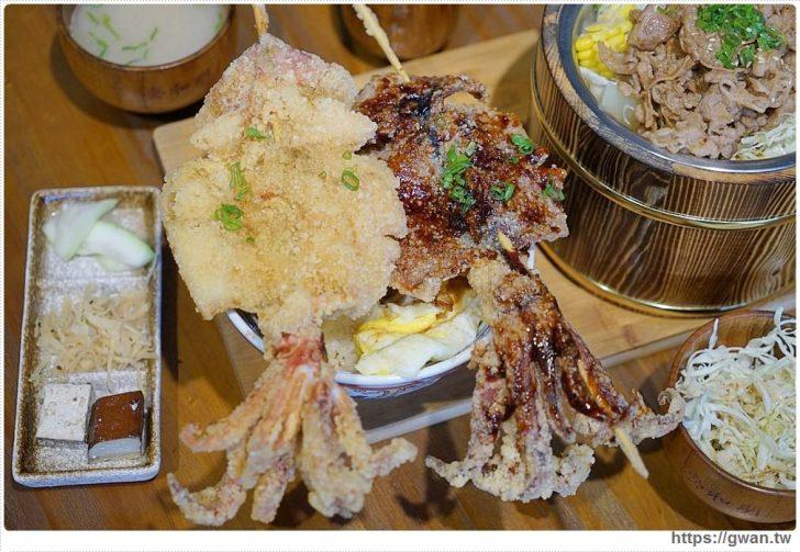 2018 10 04 012620 728x0 - 熱血採訪 | 台中超浮誇丼飯,兩隻鮮魷讓你看不到底下白飯,牛肉片堆成小山