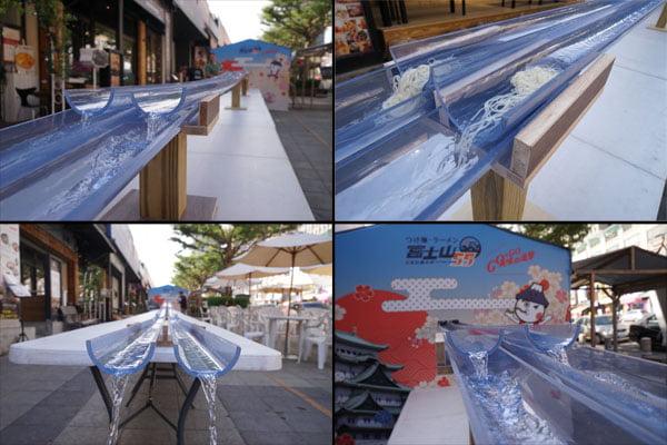 2018 11 16 151837 - 熱血採訪│全台25公尺最長的流水麵來台中囉!只有半天,就在富士山55沾麵前