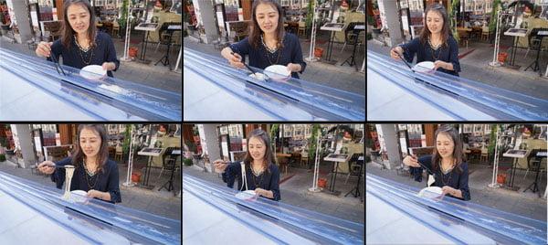 2018 11 16 151841 - 熱血採訪│全台25公尺最長的流水麵來台中囉!只有半天,就在富士山55沾麵前