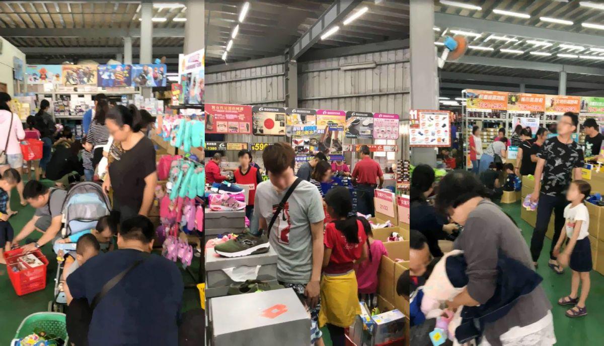 2018 11 16 222124 - 熱血採訪│大雅童鞋特賣人潮大爆滿,活動只到18號最後一天