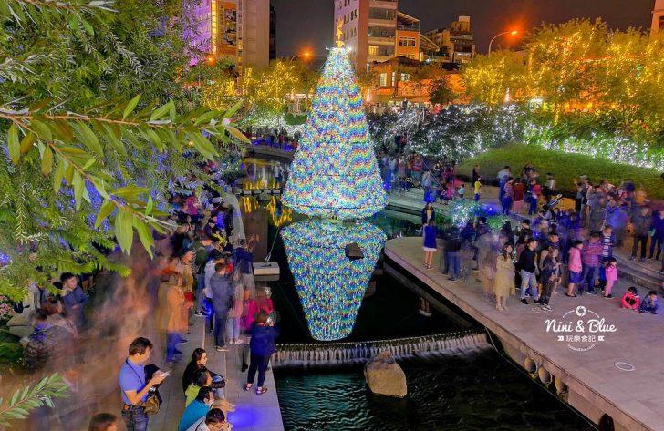 2018 12 20 223155 728x0 - 2018年台中聖誕節光景藝術 水中耶誕樹