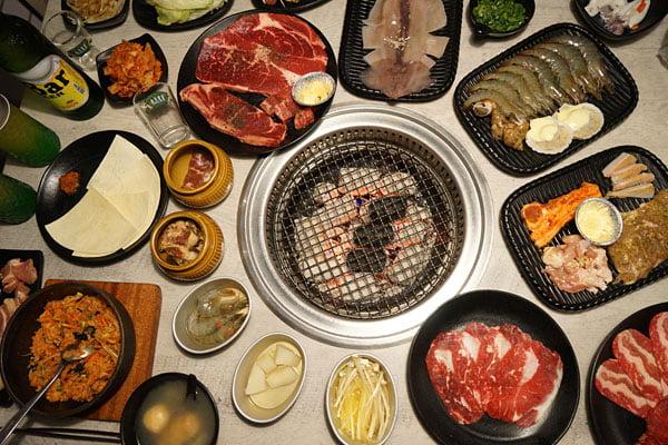 台中吃到飽│OhYaki-日式精緻炭火燒肉