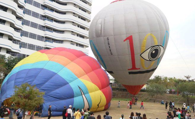 2019 01 20 182949 658x401 - 台中也出現熱氣球了!除了起球表演及熱氣球吊籃拍照外,還可以走進熱氣球體驗唷~
