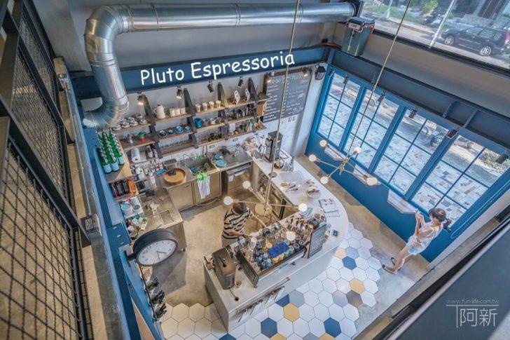 2019 03 01 095531 728x0 - Pluto Espressoria 台中南屯咖啡館,深藍色系搭寬敞空間,工業風環境超好拍。