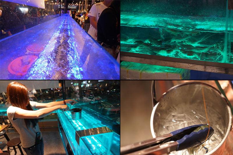2019 04 01 202733 - 熱血採訪│青海路流水蝦「泰哈HOT蝦」吃到飽,一開幕人潮大爆滿,竟然還有蓄蝦池