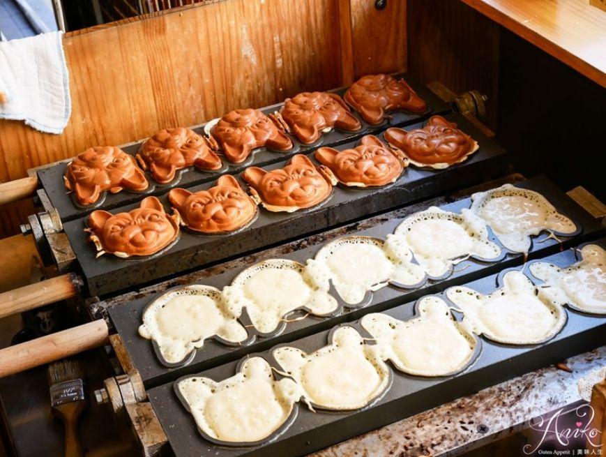 2019 04 10 145159 - 犬首燒,可愛法鬥造型的台南下午茶,內餡爆醬的雞蛋糕