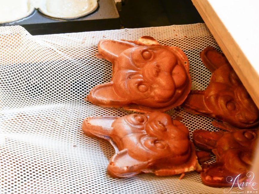 2019 04 10 145202 - 犬首燒,可愛法鬥造型的台南下午茶,內餡爆醬的雞蛋糕