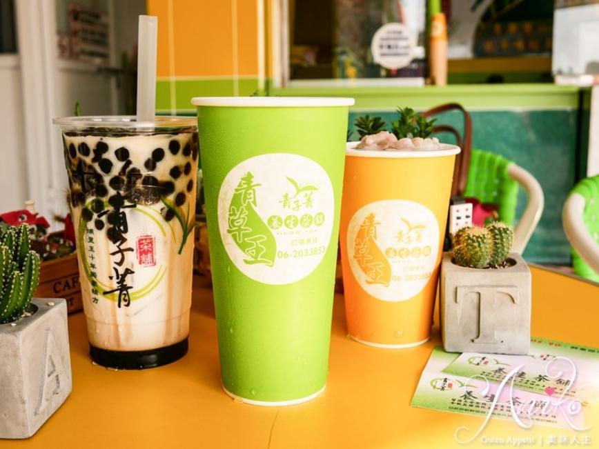 2019 04 24 112526 - 茶飲自己動手裝,新奇又有趣的台南飲料青子菁茶舖