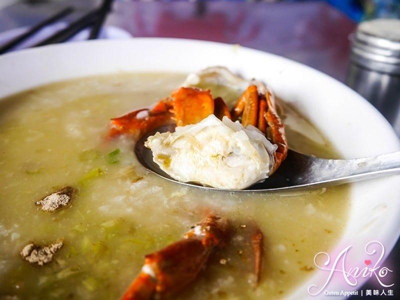 2019 04 30 120422 1 - 阿美深海鮮魚湯又一台南早餐選擇之一,每日都有新鮮現殺的螃蟹粥,晚來就沒了