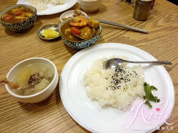 2019 05 14 085434 1 - 台南武廟美食,白飯小菜無限量供應的老騎士咖哩飯,不傷荷包又可以吃粗飽