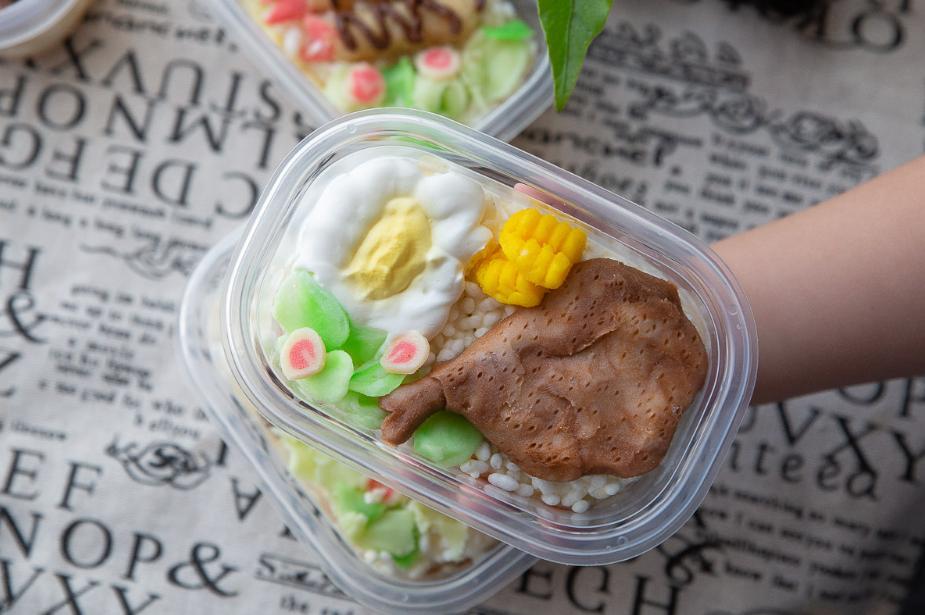 2019 05 28 095018 - 超逼真台南狗狗蛋糕,快要以假亂真的便當系列蛋糕,逗趣的台南造型蛋糕太促V了