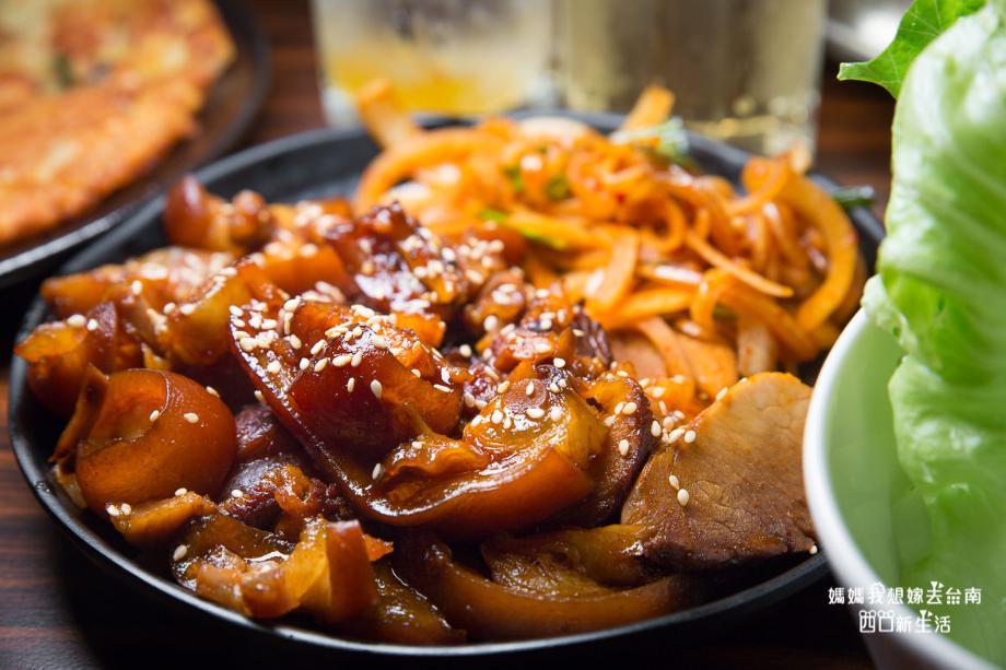 2019 05 31 100723 - 吃得到特別的韓國豬腳,銅盤烤肉也好吃的瑪西達韓式料理,台南韓式料理平價推薦