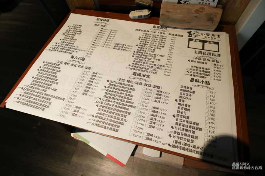 2019 06 10 113719 - 多人聚餐也不怕的創意台南義式料理,小麥先生創意料理菜色選擇多樣化