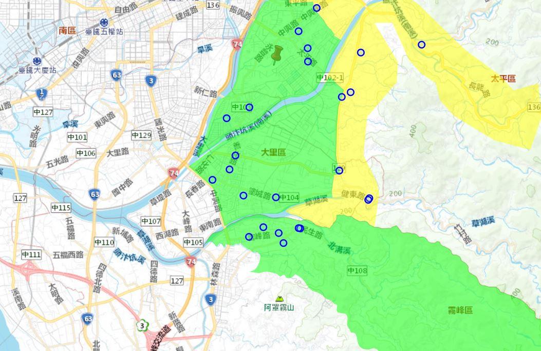 2019 07 19 133723 - 台中這三區將於7月24日起停水減壓23小時,請民眾事先儲水做好準備