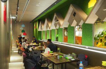 2019 09 21 155110 340x221 - 嘻遊聚親子餐廳,店內草綠色園地有森林風,9月開學季遊戲區兩人同行一人免費~